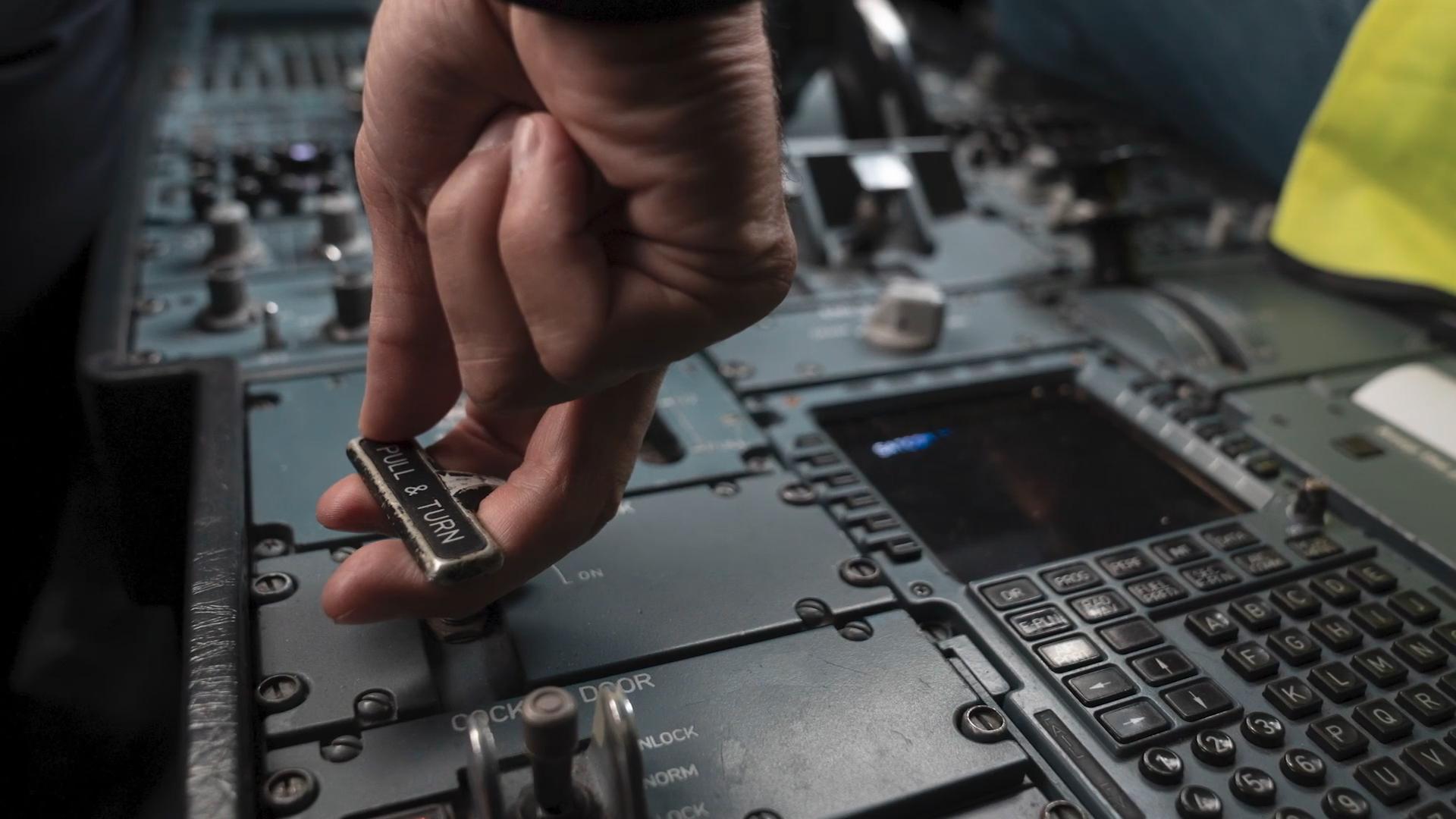 AEL Flight Service Rafael de Amorim Videographer Manchester